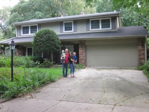 The house  when we bought it -- Sept 2011