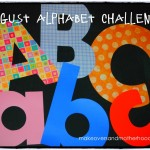 August alphabet challenge; makeoversandmotherhood.com