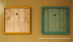 DIY Individual Art Frames; www.makeoversandmotherhood.com