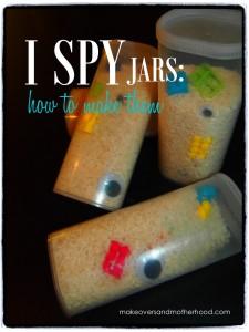 I Spy jar making; www.makeoversandmotherhood.com