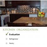 Kitchen Organization -- Evaluation; www.makeoversandmotherhood.com