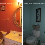 main level bathroom makeover