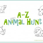 A-Z Animal Hunt (printable)