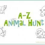 a-z animal hunt