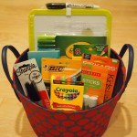 ABC giveaway basket;  www.makeoversandmotherhood.com