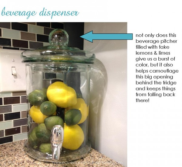 Beverage dispenser;  www.makeoversandmotherhood.com