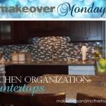 kitchen organization: countertops