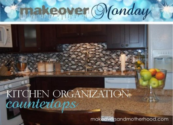 Kitchen Organization -- Countertops