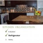 kitchen organization: refrigerator