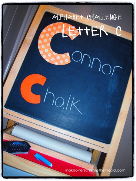 Letter C;  www.makeoversandmotherhood.com