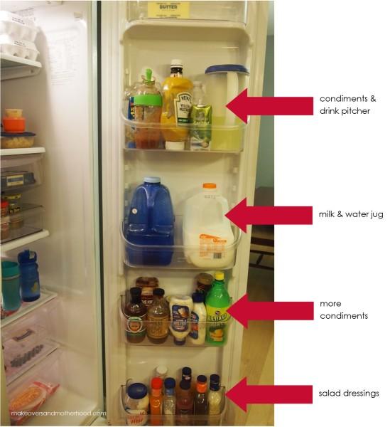 Organize Fridge Condiments