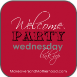 introducing welcome party wednesday link-up