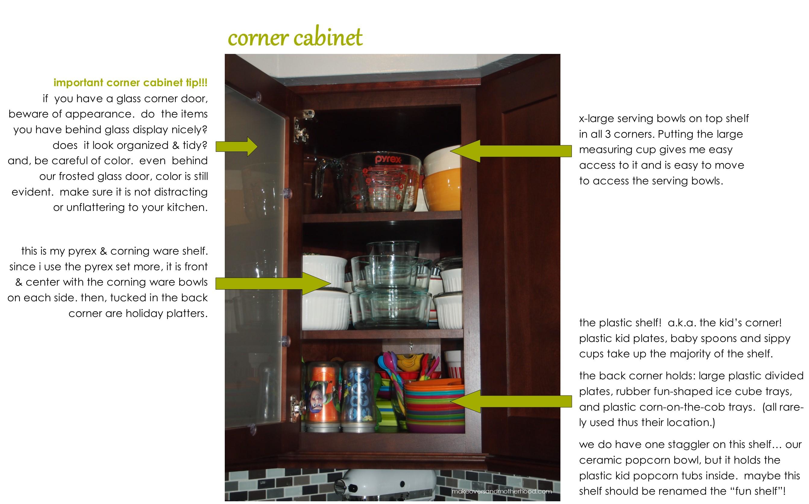 For Kitchen Organization Kitchen Organization Cabinets Makeovers Motherhood