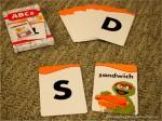 Sesame Street ABC flashcards; www.makeoversandmotherhood.com