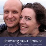 Showing Your Spouse Gratitude
