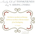 Day 4 -- Serving Others