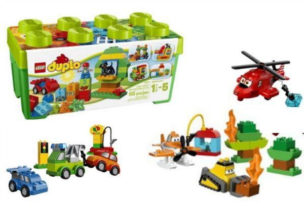 Duplo Legos; www.makeoversandmotherhood.com