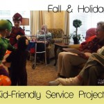 fall & holiday kid-friendly service projects