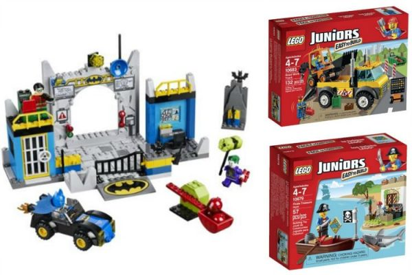 Lego Junior sets; www.makeoversandmotherhood.com