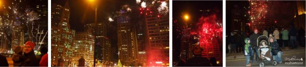 Magnificent Mile fireworks;  www.makeoversandmotherhood.com