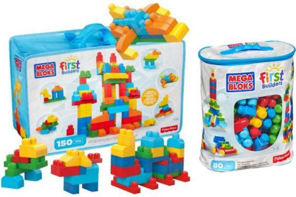 Megabloks sets; www.makeoversandmotherhood.com