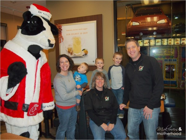 Operation Christmas Child at Chick-Fil-A