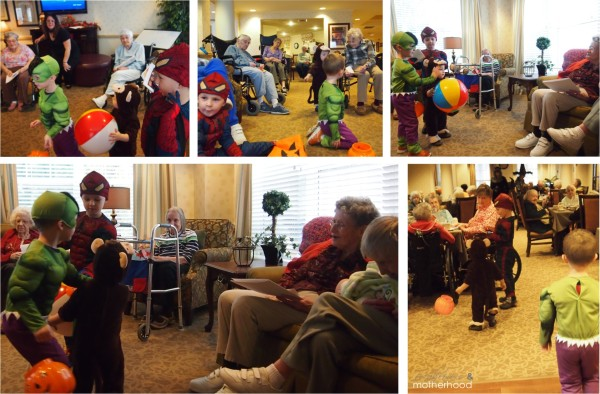 Visiting the Retirement Home;  www.makevoersandmotherhood.com