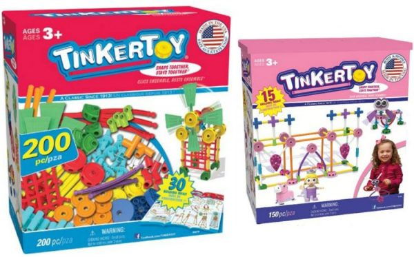 Tinkertoy sets; www.makeoversandmotherhood.com
