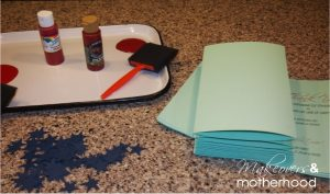Veteran's Day Craft supplies;  www.makeoversandmotherhood.com