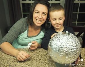 New Year's ball -- Alisha & Connor;  www.makeoversandmotherhood.com