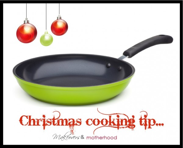 Christmas Cooking Tip -- Ozeri Frying Pan;  www.makeoversandmotherhood.com
