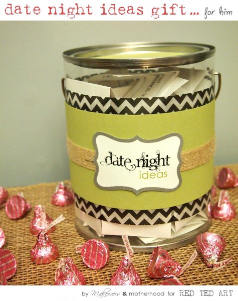 Date Night Ideas Gift; www.makeoversandmotherhood.com