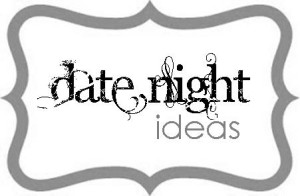 Date Night Ideas Gift label