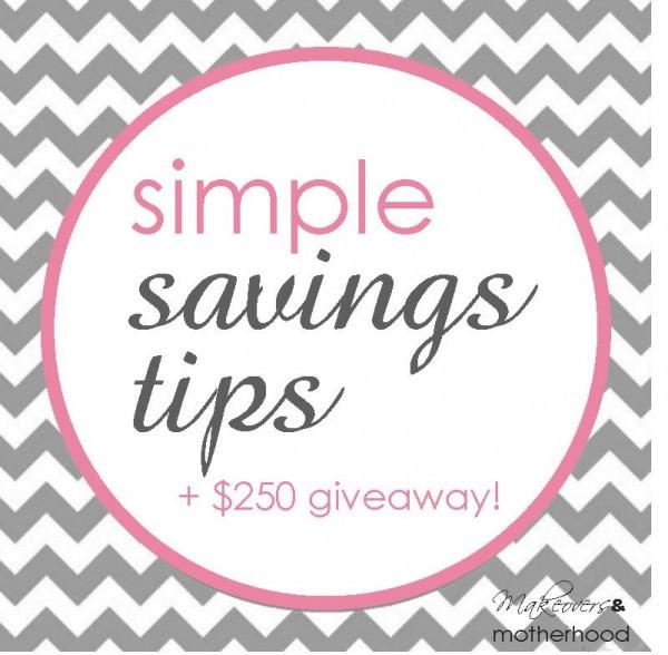 Simple Savings Tips; w...