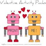 valentine activity pack (printable)