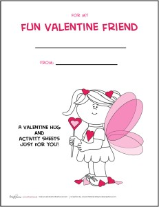 Valentine's Day Activity Pack -- GIRL; www.makeoversandmotherhood.com