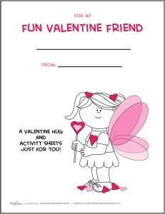 Valentine's Day Activity Pack -- GIRL; msalishacarlson.com/