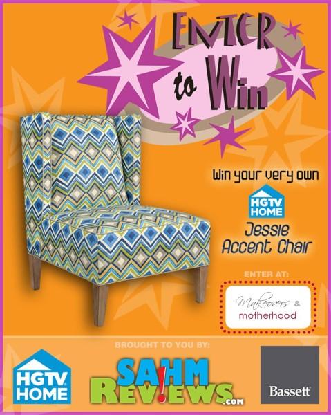 HGTV Jessie Accent Chair