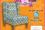 hgtv jessie accent chair giveaway!!!