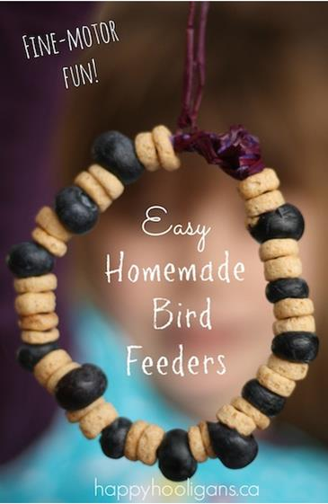 Happy Hooligans bird feeder