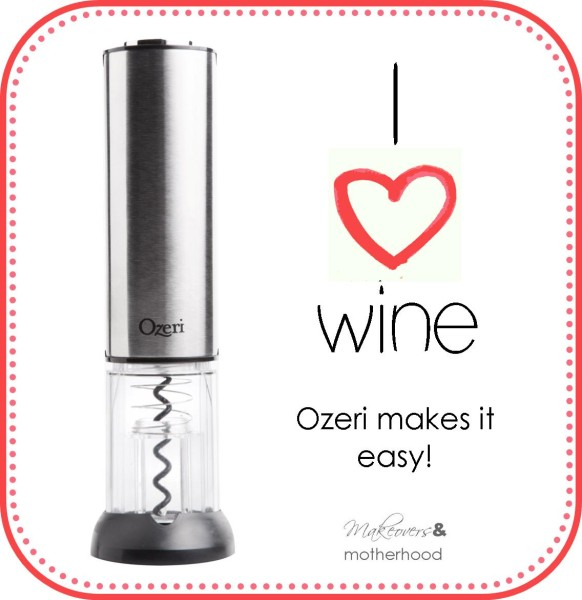 I love wine & Ozeri makes it easy!;  www.makeoversnandmotherhood.com