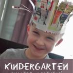 Kindergarten Cutting Activity