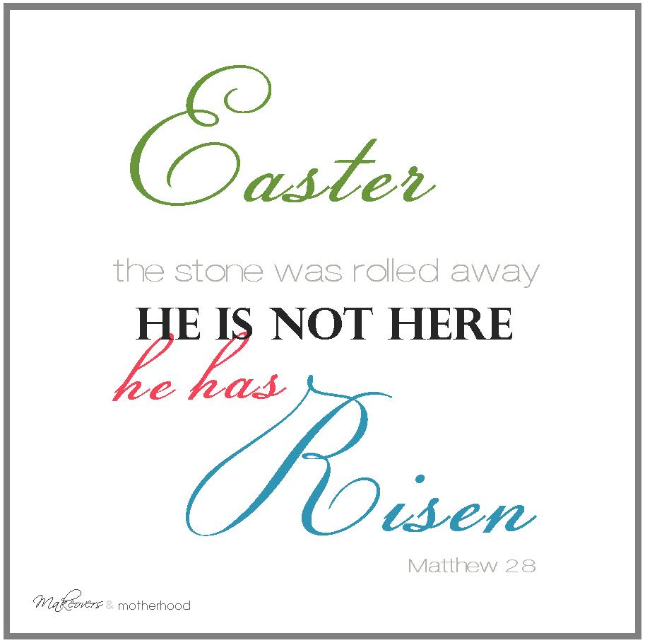 photo relating to He is Risen Printable titled He includes Risen\