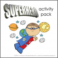 Superhero Activity Pack; www.makeoversandmotherhood.com