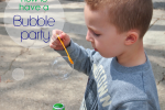 How to have a Bubble Party