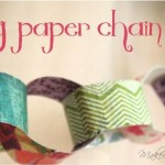 Spring Paper Chain