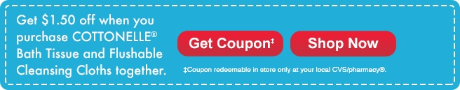 CVS $1.50 off Cottonelle coupon;  www.makeoversandmotherhood.com
