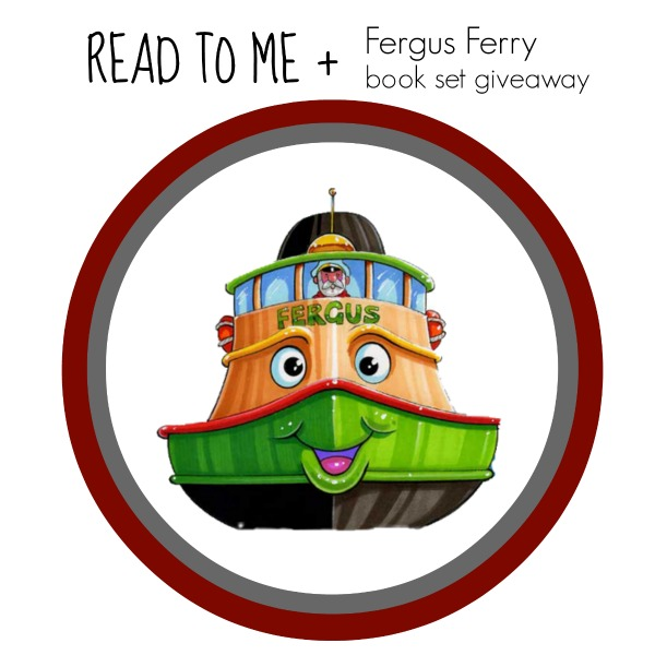 REad to Me + Fergus Ferry book giveaway;  www.makeoversandmotherhood.com