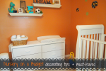 Nursery on a Budget: decorating tips & must-haves