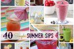 40 Simple Summer Sips